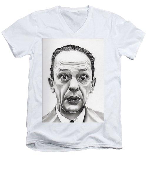 Deputy Barney Fife Men's V-Neck T-Shirt