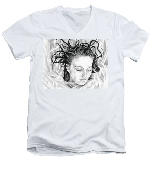 Forget Me Not - Laura Palmer - Twin Peaks Men's V-Neck T-Shirt