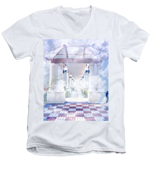 Gateway To Heaven Men's V-Neck T-Shirt