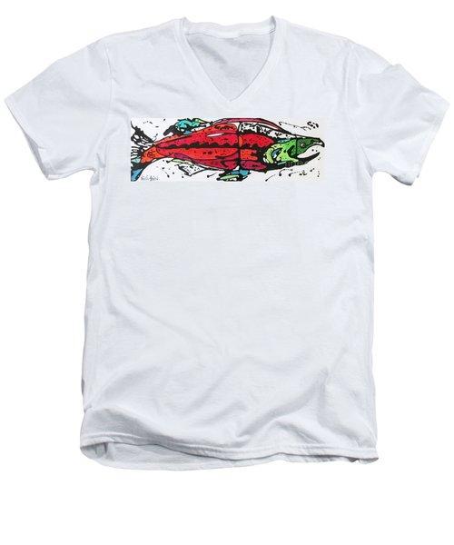 Karl Men's V-Neck T-Shirt