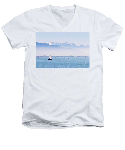 Lake Of Constance Men's V-Neck T-Shirt
