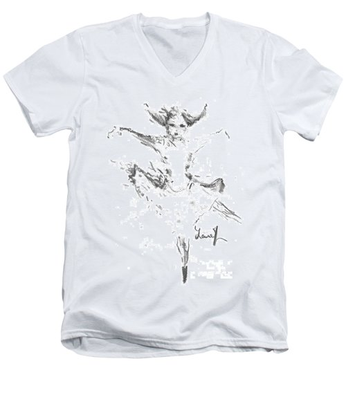 Movement Of Dance Men's V-Neck T-Shirt
