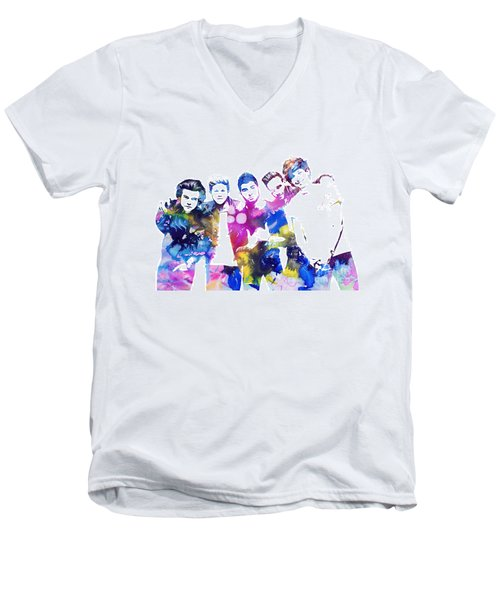 One Direction Men's V-Neck T-Shirt