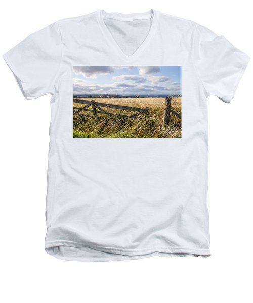 Open Gate Men's V-Neck T-Shirt