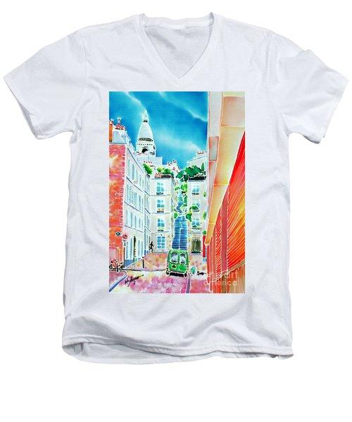 Passage Cottin Men's V-Neck T-Shirt