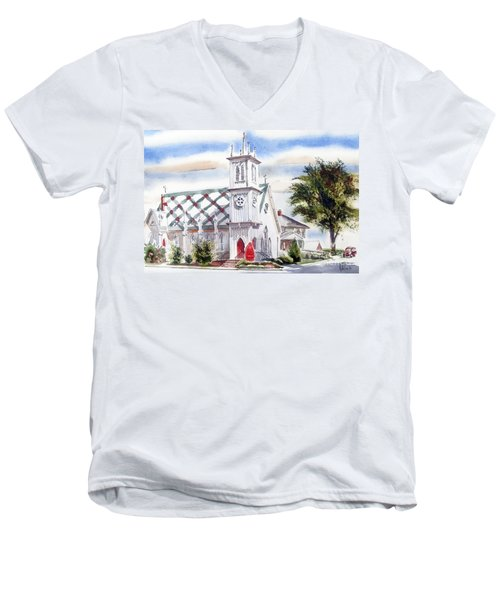 St Pauls Episcopal Church  Men's V-Neck T-Shirt