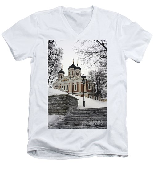 Tallinn Estonia Men's V-Neck T-Shirt