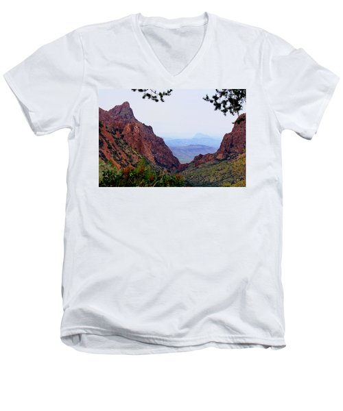 The Window Men's V-Neck T-Shirt by Dave Files