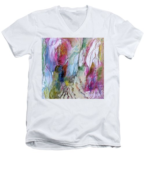 Under The Ice Of Venus Men's V-Neck T-Shirt