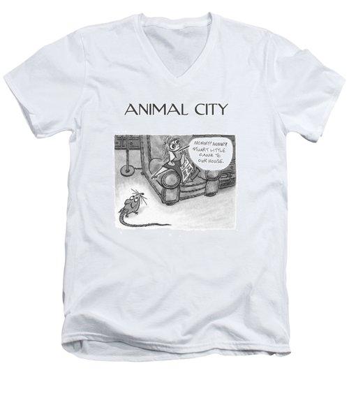 New Yorker June 5th, 2000 Men's V-Neck T-Shirt