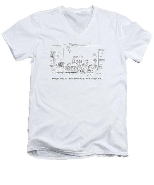 I'm Fifty-three Men's V-Neck T-Shirt