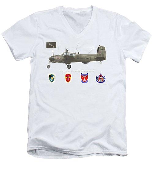 U.s. Army Ru-8d Card Or Mug Art Men's V-Neck T-Shirt