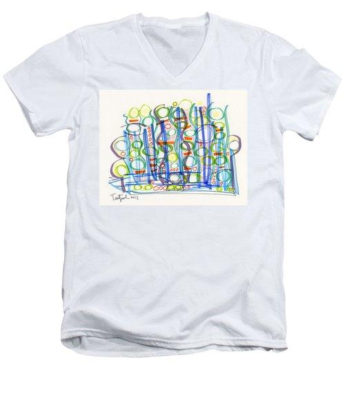 2012 Drawing #29 Men's V-Neck T-Shirt