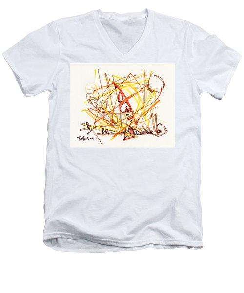 2012 Drawing #31 Men's V-Neck T-Shirt