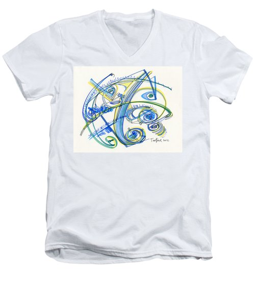 2012 Drawing #33 Men's V-Neck T-Shirt