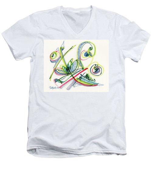 2012 Drawing #36 Men's V-Neck T-Shirt