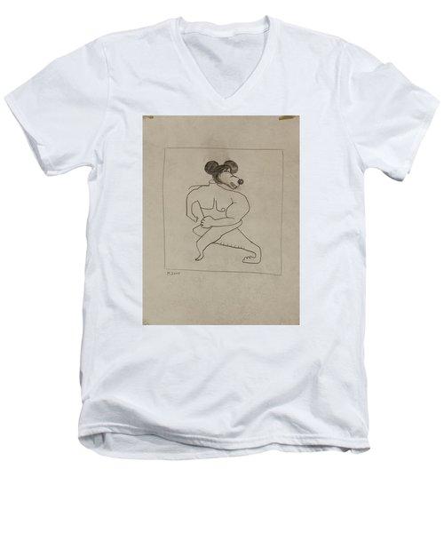 2300 Men's V-Neck T-Shirt