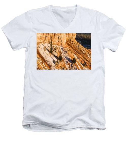 Bryce Men's V-Neck T-Shirt by Muhie Kanawati