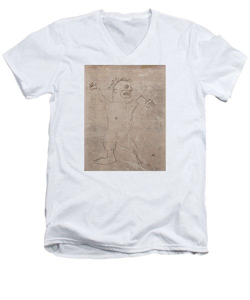 2574 Men's V-Neck T-Shirt