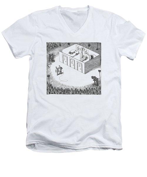 New Yorker September 26th, 2005 Men's V-Neck T-Shirt