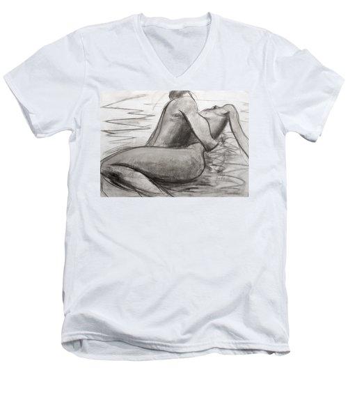 Deep Love Men's V-Neck T-Shirt