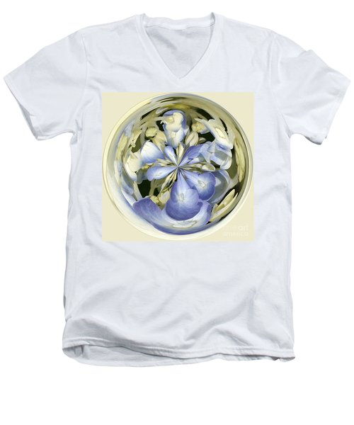 Hydrangea Men's V-Neck T-Shirt