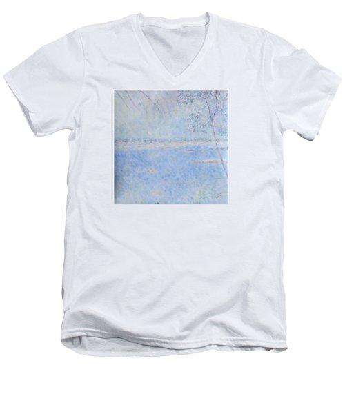 Water Of Les Iles De Lerins France Men's V-Neck T-Shirt