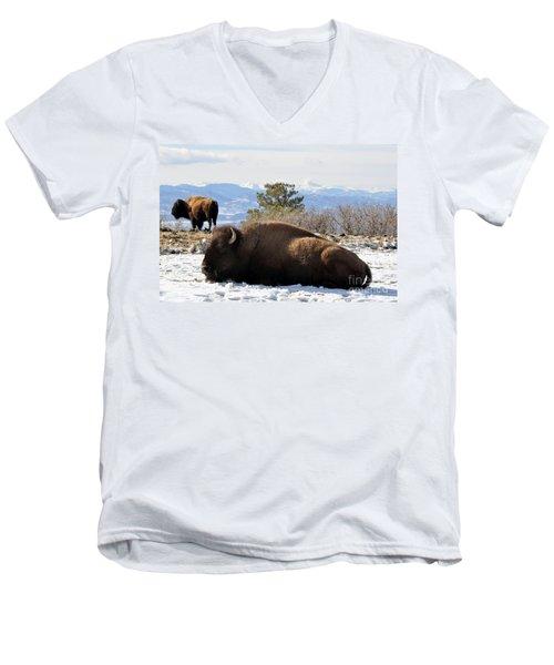 302 Men's V-Neck T-Shirt