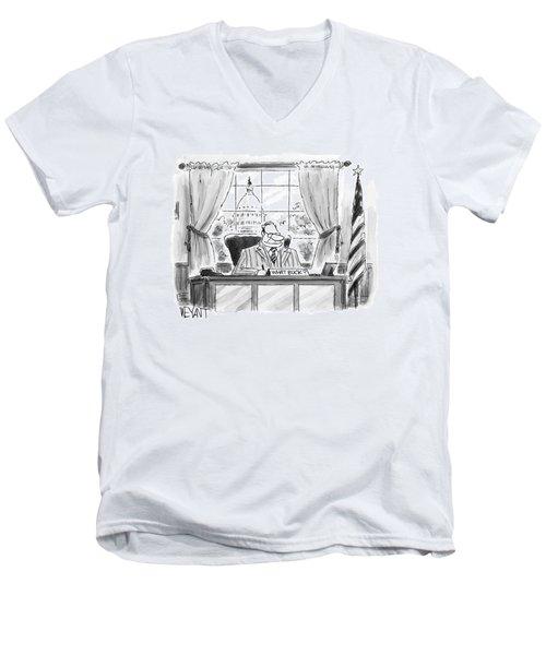New Yorker July 25th, 2005 Men's V-Neck T-Shirt