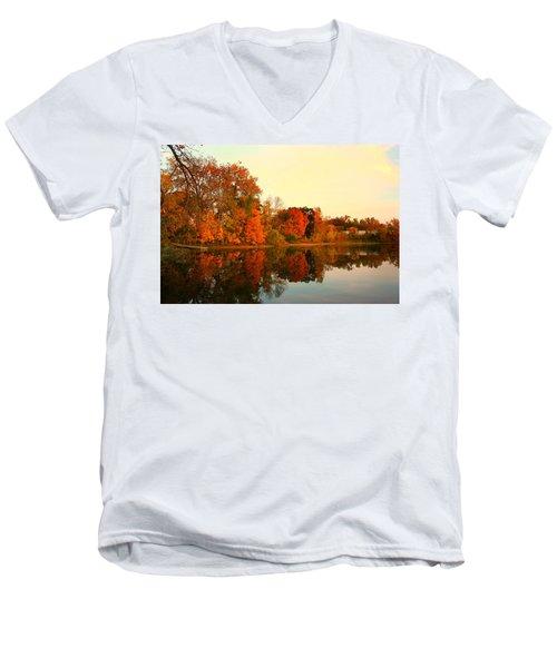 Shady Oak Lake  Men's V-Neck T-Shirt