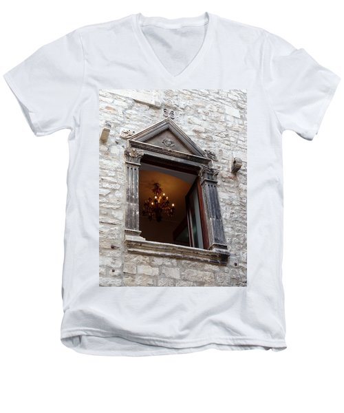 Views Of Split Croatia Men's V-Neck T-Shirt