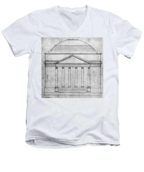 University Of Virginia Men's V-Neck T-Shirt