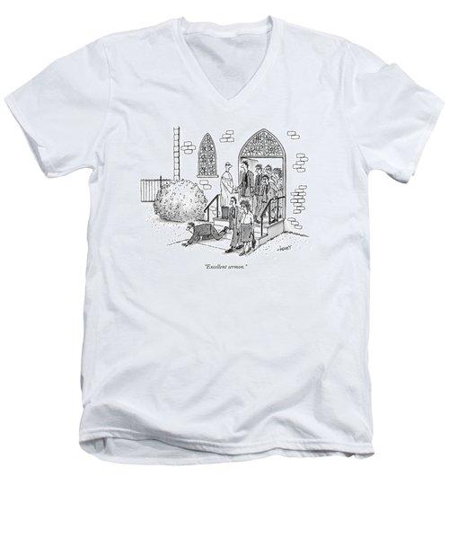 Excellent Sermon Men's V-Neck T-Shirt
