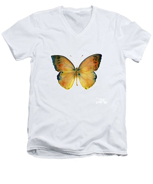 53 Leucippe Detanii Butterfly Men's V-Neck T-Shirt