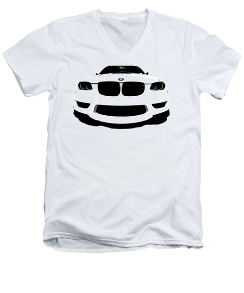 BMW Men's V-Neck T-Shirt by J Anthony