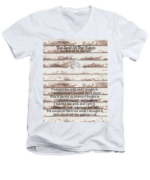 Spell Of Yukon Men's V-Neck T-Shirt
