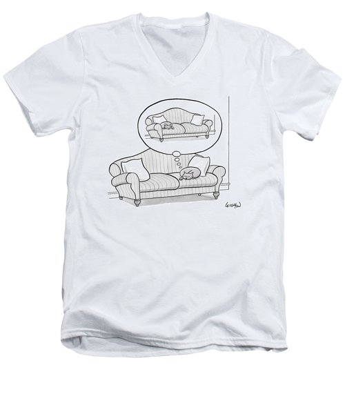 New Yorker November 6th, 2006 Men's V-Neck T-Shirt