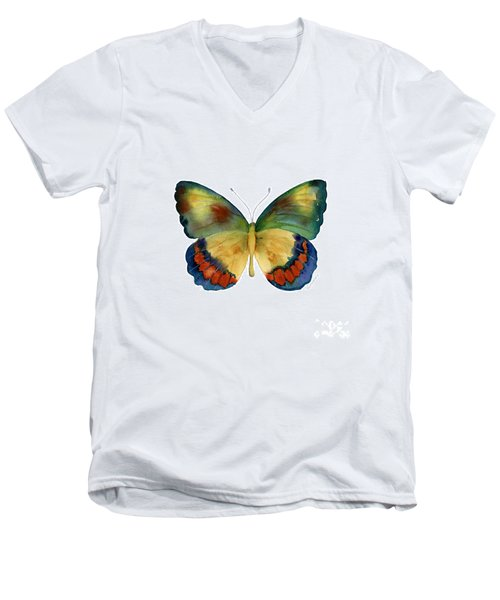 67 Bagoe Butterfly Men's V-Neck T-Shirt