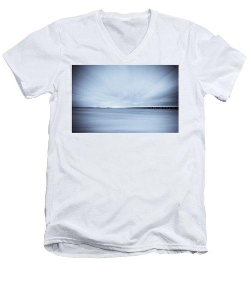 7 Mile Bridge 7 Men's V-Neck T-Shirt