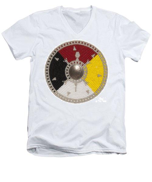 7 Point Star Men's V-Neck T-Shirt