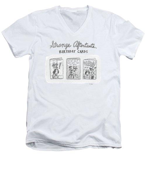 New Yorker October 30th, 2006 Men's V-Neck T-Shirt