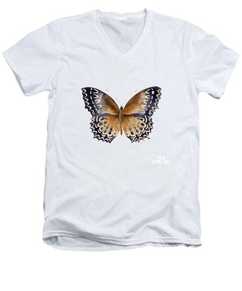 77 Cethosia Butterfly Men's V-Neck T-Shirt