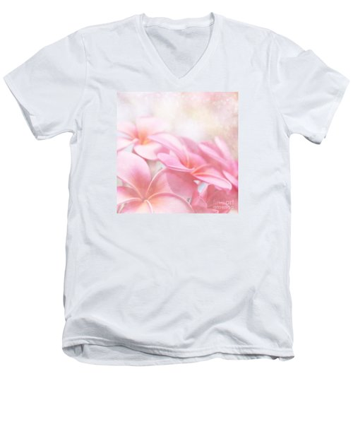 Men's V-Neck T-Shirt featuring the photograph Aloha by Sharon Mau