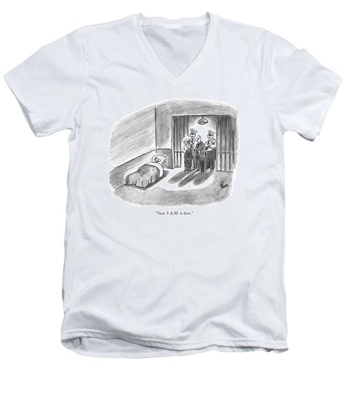 Your 5 A.m. Is Here Men's V-Neck T-Shirt