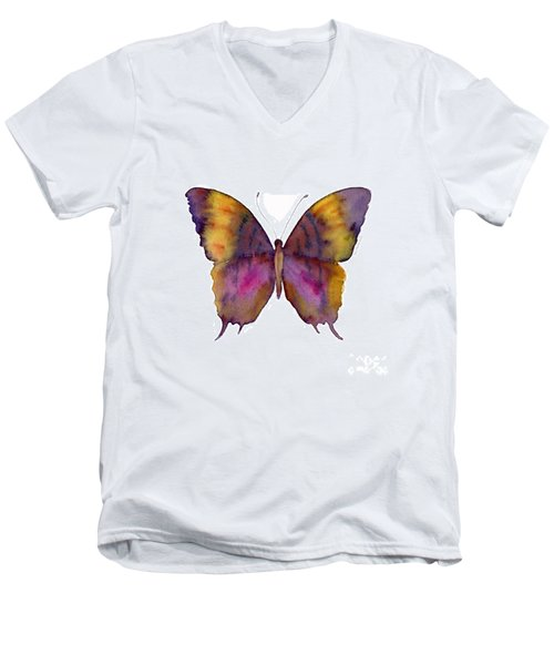 99 Marcella Daggerwing Butterfly Men's V-Neck T-Shirt
