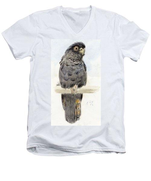 A Black Cockatoo Men's V-Neck T-Shirt