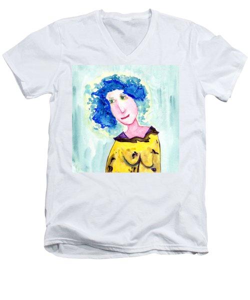 A Blue Day Men's V-Neck T-Shirt
