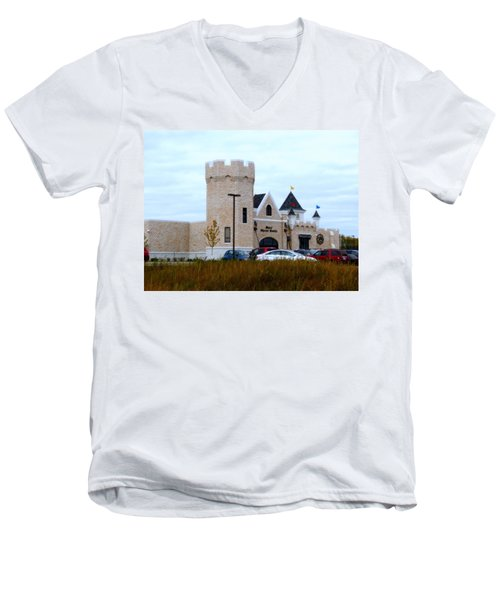 A Cheese Castle Men's V-Neck T-Shirt