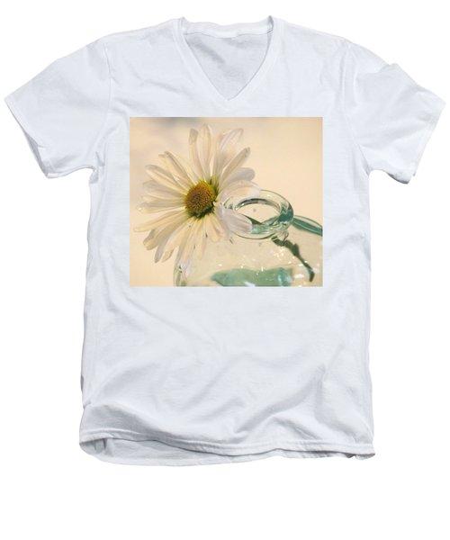 A Daisy A Day Men's V-Neck T-Shirt