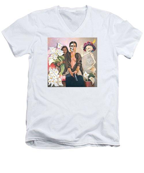 A Dangerous Woman Men's V-Neck T-Shirt